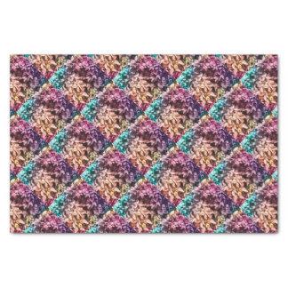 Für die Liebe des Gebens - multi Farbe mit Blumen Seidenpapier