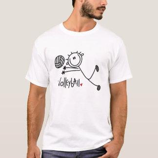 Für die Liebe des Volleyballs T-Shirt