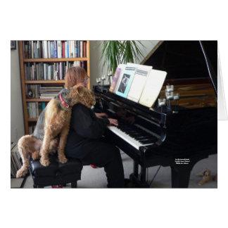 Für die Liebe von Musik (Maddie Liebe-Musik!) Grußkarte