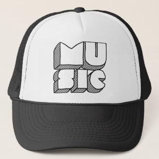 Für die Musik Truckerkappe