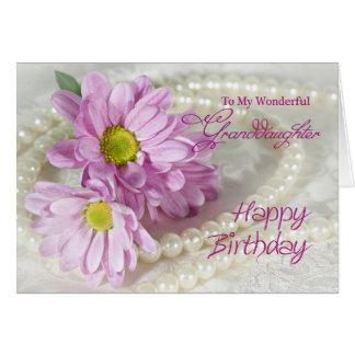 Für eine Enkelin eine Geburtstagskarte mit Karte