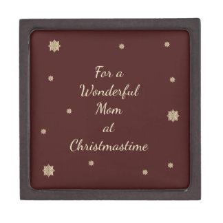 Für eine wunderbare Mamma bei Christmastime Kiste