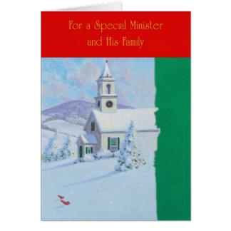 Für einen speziellen Minister und seine Familie Karte