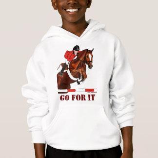 Für es gehen Pullover-MädchenHoodie Hoodie