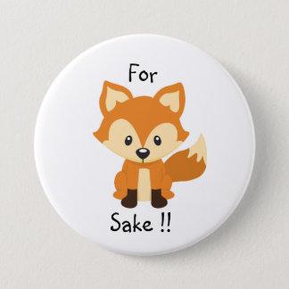 For fox sake button pin