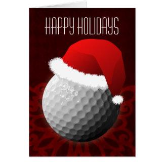 für Golfspieler Weihnachtskarten Karte