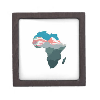 FÜR GROSSES AFRIKA SCHMUCKKISTE