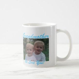 für Großmutter addieren Sie Ihre Fotogeschenk Kaffeetasse