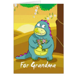 für Großmutter Karte