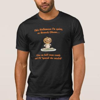 Für Halloween gehe ich als Barack T-Shirt