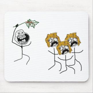 Für immer alleinweihnachten mousepads
