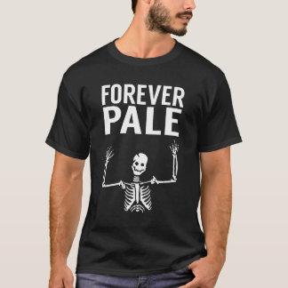 Für immer blasser Skeleton beängstigender T - T-Shirt