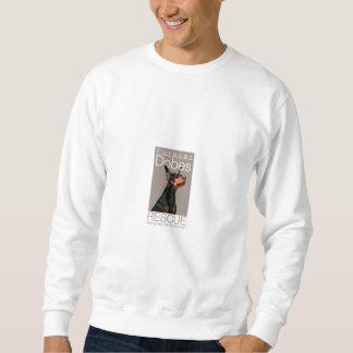 Für immer Dobes graues Blockbauweise-Sweatshirt Sweatshirt
