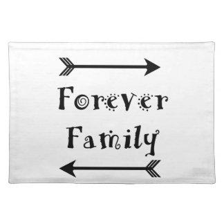 Für immer Familie - Adpotion Entwurf Tischset