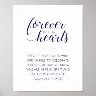 Für immer in unseren Herzen, die Wedding sind - Poster