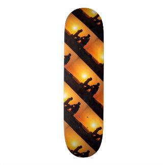 Für immer Liebe-Freude-Freundschafts-für immer Jun Personalisierte Skateboarddecks