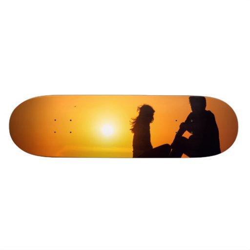 Für immer Liebe-Freude-Freundschafts-für immer Jun Individuelle Skateboards