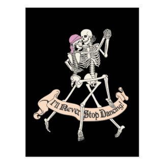 Für immer tanzen postkarte