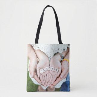 Für immer Together| Paar-HandFoto Tasche