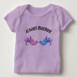 Für immer zusammen baby T-Shirt