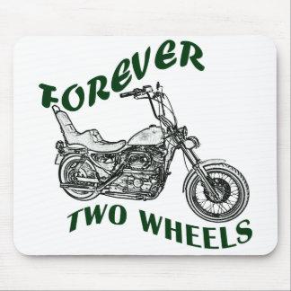 Für immer zwei Räder - Radfahrer Mousepad