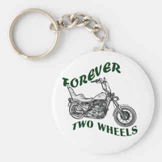 Für immer zwei Räder - Radfahrer Schlüsselbänder