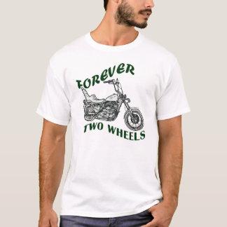 Für immer zwei Räder - Radfahrer T-Shirt