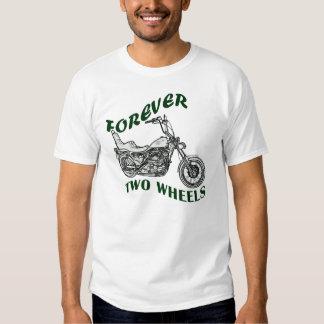 Für immer zwei Räder - Radfahrer T Shirts