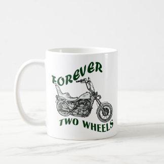 Für immer zwei Räder - Radfahrer Tasse
