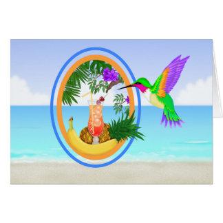 Für J - Paradies des Strand-#2 danken Ihnen/leerer Karte