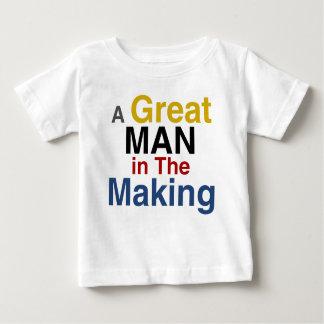 für Jungen und Kinder - ein großer Mann in der Baby T-shirt