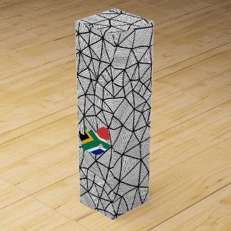 Für Kinder: Kreative Südafrika-Flagge mit Karte Flaschen Geschenkverpackungen