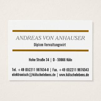 Für Makler & Immobilienexperten Visitenkarte