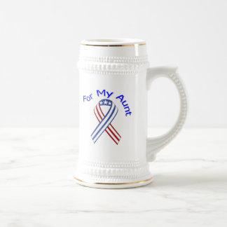 Für meine Tante Military Patriotic Tassen