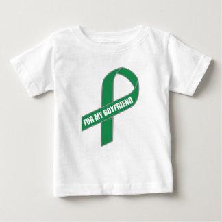 Für meinen Freund (grünes Band) Baby T-shirt