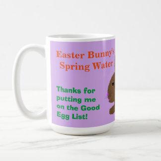 Für Osterhasen-Wasser-Tasse personifizieren Sie Kaffeetasse