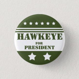 Für Präsidenten Hawkeye Runder Button 3,2 Cm