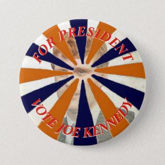 Für Präsidenten Vote Joe Kennedy Runder Button 7,6 Cm