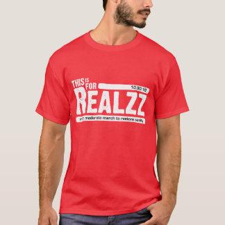 Für Realzz - Dunkelheit T-Shirt