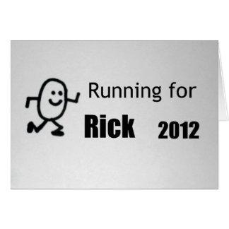 Für Rick laufen, 2012 Karte