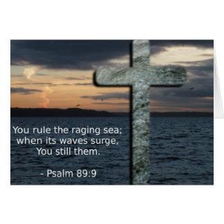 Für Sie beten Karten-Psalm-89:9 Karte