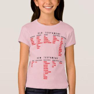für SIE (Jugend): Bücher der Bibel T-Shirt