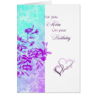Für Sie Mammageburtstag Grußkarte