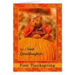 für teddy-Bären der Enkelin 1. der Erntedank Karten