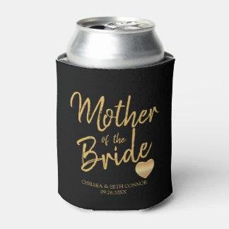 Für unser Hochzeits-Party im Goldskript Dosenkühler