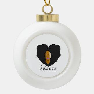 für vereinigtes Kwanza Keramik Kugel-Ornament