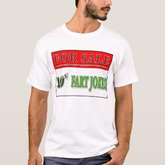 Für Verkauf: 10 Cent Furz-Witz-Shirt T-Shirt