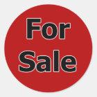 Für Verkaufs-Aufkleber Runder Aufkleber