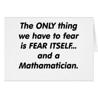 Furcht mathamatician karte