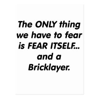 Furcht-Maurer Postkarte